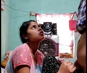 Desi Wife Seducing Her Husband With A Blowjob Sex